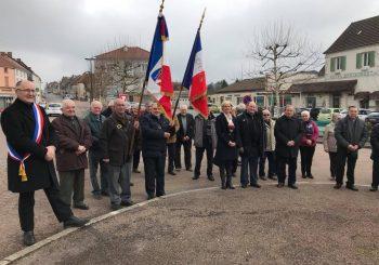 Cérémonie du 19 mars à Saint Bonnet de Joux
