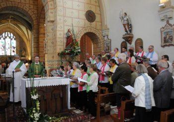 Les 80 ans du petit chœur de Viry