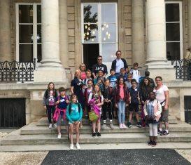 Les écoliers à l'Assemblée nationale