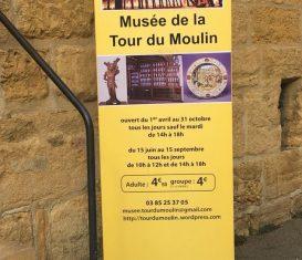 Le Musée de la tour du moulin à Marcigny