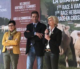 Concours du Herd Book Charolais à Gueugnon