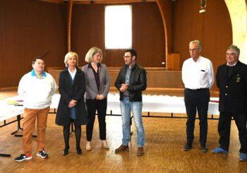 Avec les boulistes de l'ESB Marcigny