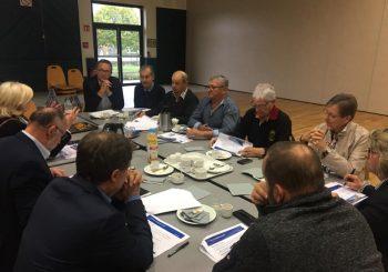 Petit-déjeuner avec Pierre Berthier et les maires du canton de Charolles